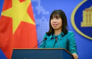 Việt Nam đề nghị 'các bên không làm phức tạp thêm tình hình Biển Đông'