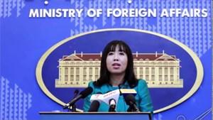 Đề nghị Trung Quốc chấm dứt việc làm phức tạp tình hình Biển Đông