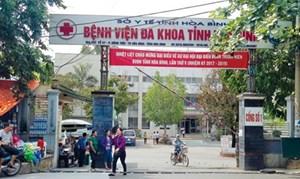 Đề nghị truy tố 2 cựu lãnh đạoBệnh viện đa khoa tỉnh Hòa Bình
