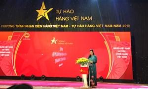 Để người tiêu dùng lựa chọn hàng Việt