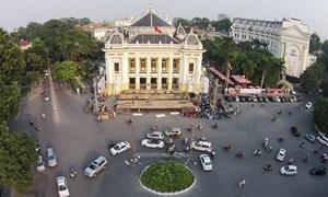 Đếm ngược đón giao thừa tại Nhà hát Lớn Hà Nội