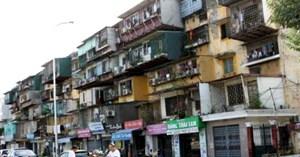 Di dân 42 chung cư hỏng nghiêm trọng