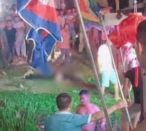 Đi lễ hội điện Hòn Chén, nam thanh niên rơi xuống sông tử vong