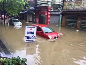 Điểm qua những vị trí ngập sâu tại Hà Nội