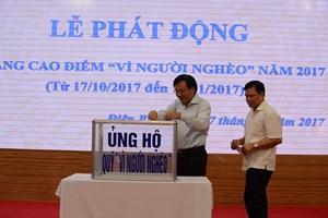 Điện Biên: Hơn 4,7 tỷ đồng ủng hộ Quỹ 'Vì người nghèo'