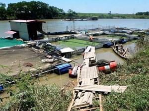Điện giật, 5 người chết thương tâm ở nơi nuôi cá lồng
