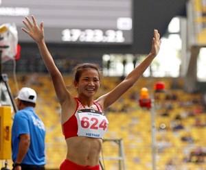 Điền kinh Việt Nam đã giành được tấm huy chương thứ 17