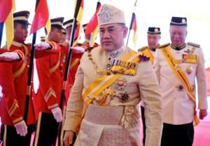 Điện mừng tân Quốc vương Malaysia