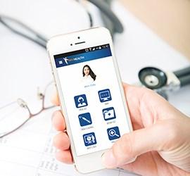 Điện thoại có thể quản lý hồ sơ sức khỏe bằng ứng dụng My Health