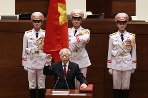 Điện, thư chúc mừng Tổng Bí thư Nguyễn Phú Trọng