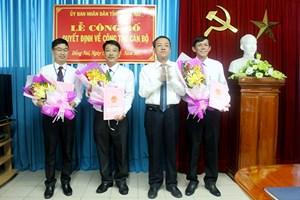 Điều động, bổ nhiệm nhân sự tỉnh Đồng Nai