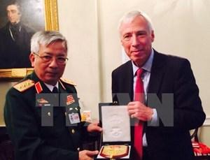 Đoàn Bộ Quốc phòng tham dự hội nghị về Lực lượng gìn giữ hòa bình