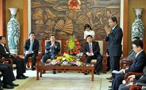 Đoàn đại biểu cấp cao Mặt trận Lào thăm Ban Tôn giáo Chính phủ