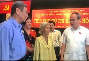 Đoàn ĐBQH TP Hồ Chí Minh tiếp xúc cử tri: Giải đáp nhiều vấn đề nóng