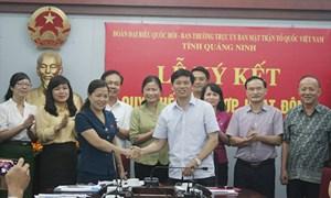 Đoàn ĐBQH và MTTQ tỉnh Quảng Ninh phối hợp hoạt động