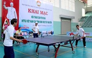 Đoàn Gia Lai giành giải nhất Hội thao Mặt trận cụm Tây Nguyên