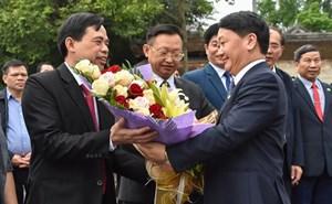 Đoàn MTTQ Việt Nam lên đường tham dự Giao lưu hữu nghị nhân dân