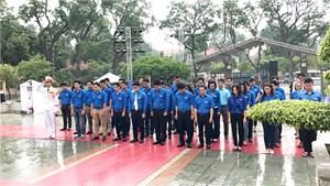 Đoàn thanh niên 3 cơ quan Trung ương dâng hương tưởng nhớ các anh hùng liệt sĩ