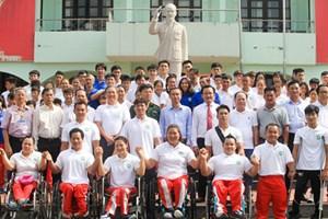 Đoàn thể thao phía Nam làm lễ xuất quân tham dự ASIAD 2018