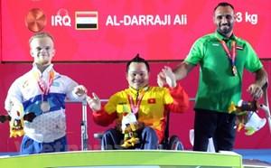 Đoàn Việt Nam có huy chương vàng thứ 2 tại Asian Para Games