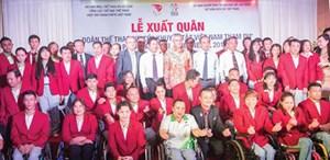 Đoàn Việt Nam đặt mục tiêu 9 huy chương vàng tại ASIAN Para Games 3