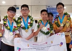 Đoàn Việt Nam thắng lớn tại Olympic WICO 2018