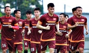 Đội tuyển Việt Nam tập trung toàn lực cho AFF Cup 2016