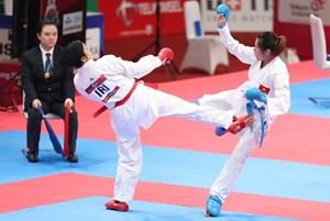 Đội tuyển Karate Việt Nam tan giấc mơ huy chương vàng