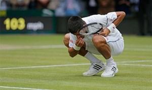 Trận chung kết trong mơ Djokovic-Federer đi vào lịch sử Wimledon