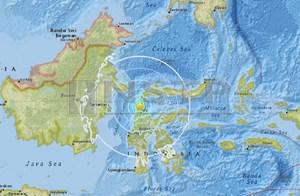 Động đất mạnh 6,1 độ Richter làm rung chuyển đảo Sulawesi