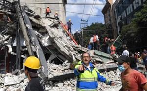 Động đất mạnh rung chuyển Mexico, hơn 100 người chết