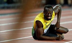 Đồng đội tiết lộ Usain Bolt chấn thương vì lạnh