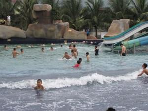 Đông Triều xây bể bơi tại tất cả trường THCS, tiểu học