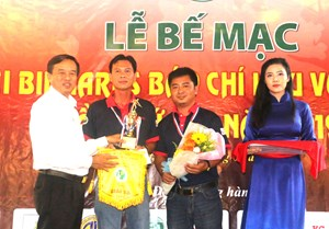 Báo Đại đoàn kết đạt giải 3, Giải Bida Báo chí ĐBSCL mở rộng lần thứ 12