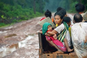 ĐSQ Việt Nam tại Nga giúp đỡ người dân Lào sau sự cố vỡ đập thủy điện