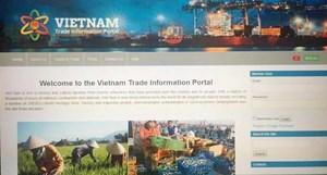 Đưa vào vận hành Cổng Thông tin thương mại Việt Nam