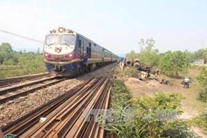 Đường dây nóng tiếp nhận thông tin ATGT đường sắt dịp Tết