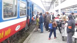 Đường sắt tăng thêm nhiều chuyến tàu phục vụ hành khách dịp Lễ 30/4 và 1/5