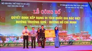 Đường Trường Sơn-đường Hồ Chí Minh là Di tích Quốc gia đặc biệt