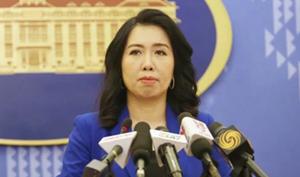 Việt Nam kiên quyết, kiên trì bảo vệ chủ quyền của mình trên Biển Đông