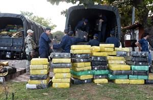 Ecuador thu giữ lượng lớn ma túy
