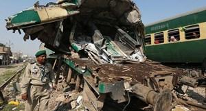 Pakistan: Tai nạn giao thông đường sắt nghiêm trọng
