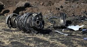 Ethiopia công bố báo cáo sơ bộ về vụ tai nạn máy bay Boeing 737 MAX