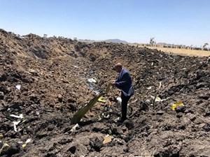 Ethiopia tuyên bố quốc tang sau vụ tai nạn máy bay kinh hoàng