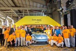 Volkswagen chính thức dừng sản xuất Beetle