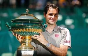 Roger Federer hoàn tất cú 'decima' đầu tiên trong sự nghiệp