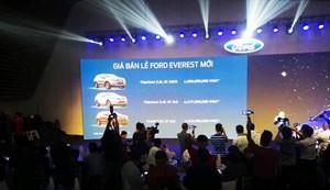 Ford ra mắt xe Everest động cơ 10 cấp giá từ 1,1 tỷ đồng