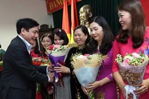 Gặp mặt 24 nữ đại biểu công đoàn dự ĐH Phụ nữ Việt Nam