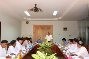 Ghi nhận ý kiến vào Dự thảo Chương trình phối hợp bảo vệ môi trường và ứng phó với biến đổi khí hậu