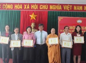 Gia Lai: 45 cá nhân tiêu biểu được nhận Kỷ niệm chương Đại đoàn kết